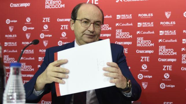 José Castro, en un acto del Sevilla (Foto: Jesús Spínola)