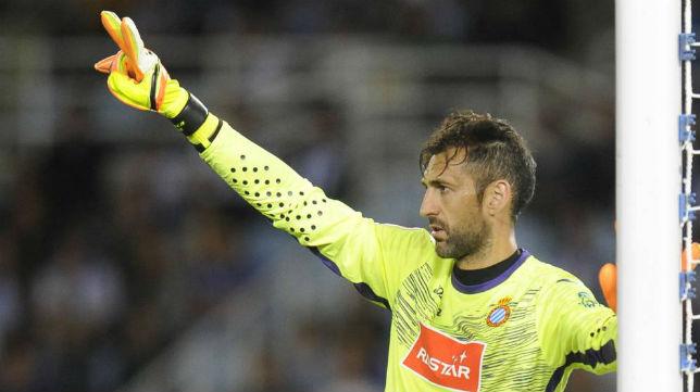 Diego López, portero del Espanyol y exguardameta del SevillaFC