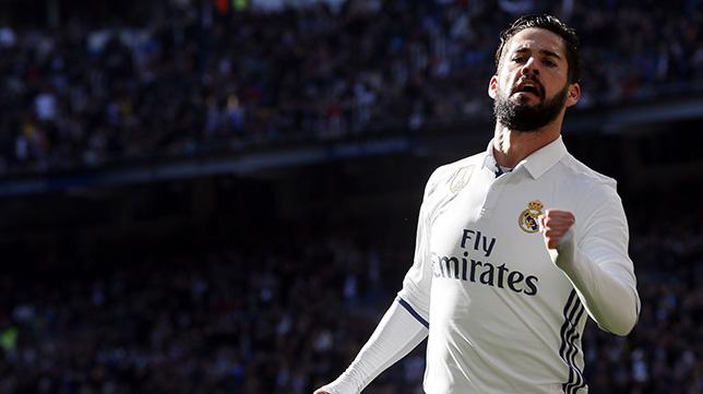 Isco, en el Real Madrid-Granada
