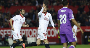 Jovetic celebra su gol (Foto: EFE).