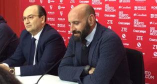 José Castro y Monchi, durante la presentación de Jovetic