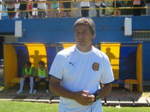 Fernando Lanzidei le dio la primera gran oportunidad a Montoya en Rosario Central