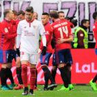 La última vez que se enfrentaron el Sevilla y el Osasuna fue hace en la temporada 2016-2017
