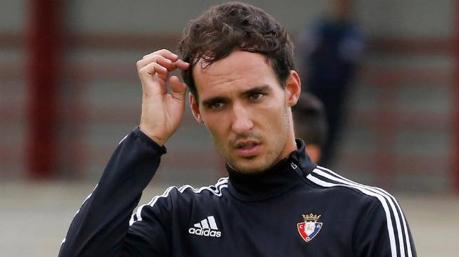 Unai García, jugador del Osasuna