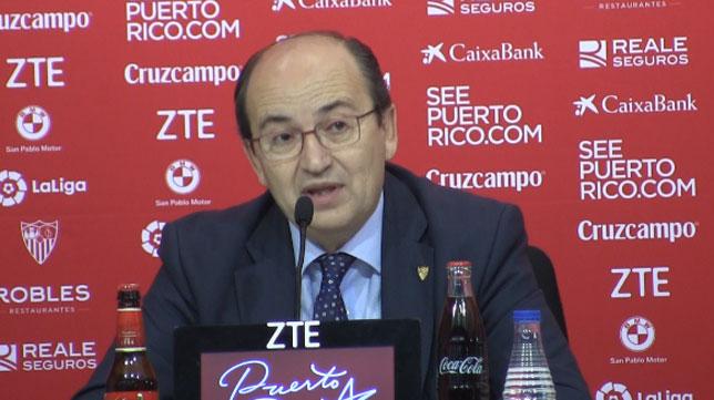 José Castro en una comparecencia pública reciente