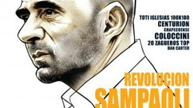 Portada de 'El Gráfico' dedicada a Sampaoli