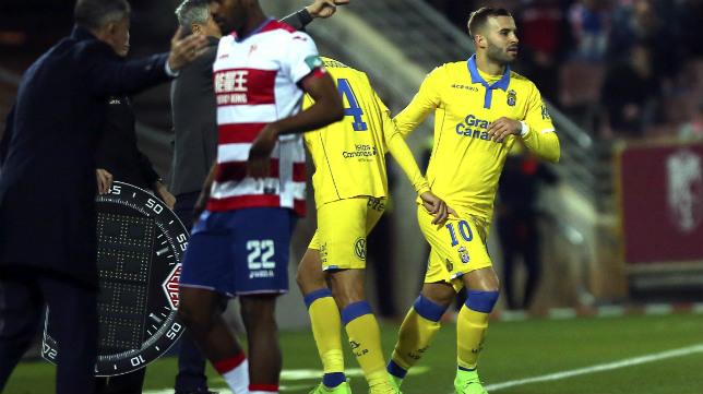 Jesé debutó con Las Palmas ante el Granada