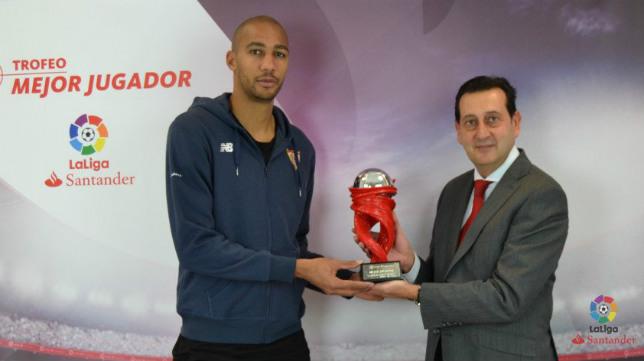 Nzonzi fue designado mejor jugador de LaLiga Santander del mes de enero