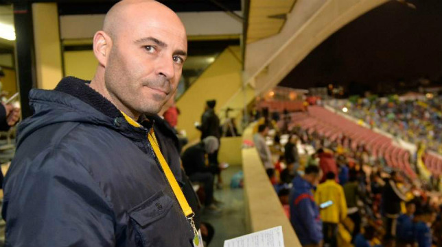 Daniel Salas, scouting del Sevilla FC. (Foto: Daniel Molineros / EL TELÉGRAFO)