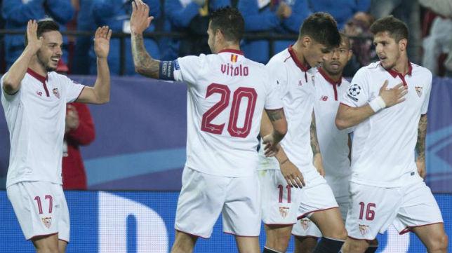 Vitolo felicita a Sarabia