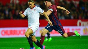 Ben Yedder en el Sevilla FC-Eibar