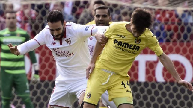 Rami pugna con Trigueros en el Sevilla-Villarreal
