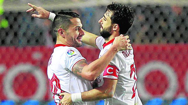 Vitolo y Pareja