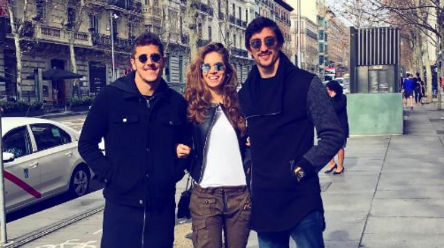 Jovetic y Savic, en Madrid