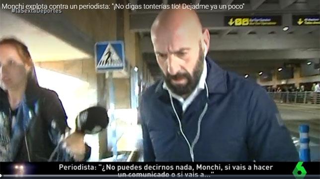 Monchi, a su llegada a Sevilla
