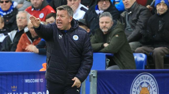 Craig Shakespeare, entrenador del Leicester (Foto: AFP)