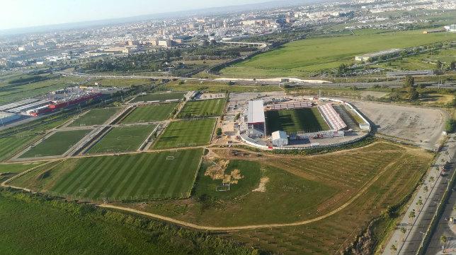 La Ciudad Deportiva, a vista de pájaro. Foto: SFC