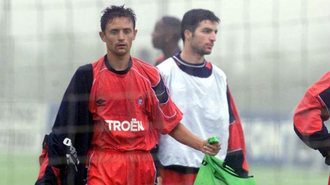 Jesuli y Velasco, como jugadores del Celta, llegaron a coincidir con Berizzo