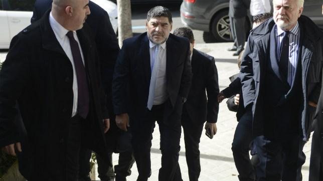 Diego Armando Maradona, en una visita reciente a Madrid
