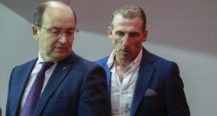José Castro y Óscar Arias