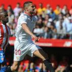 Vitolo, en el Sevilla FC-Sporting