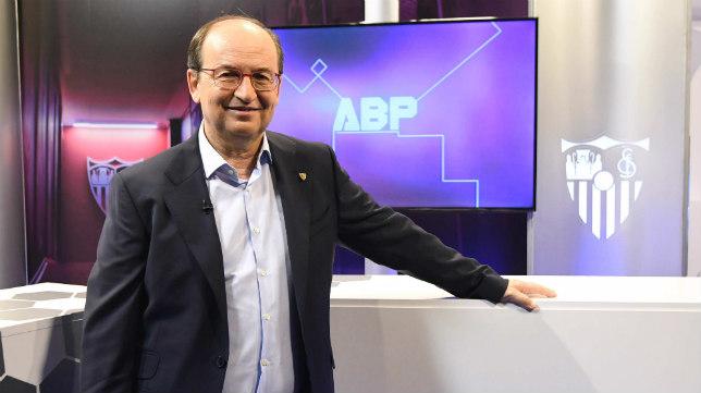 José Castro, en 'A balón parado', de SFC TV. Foto: J.J. Úbeda