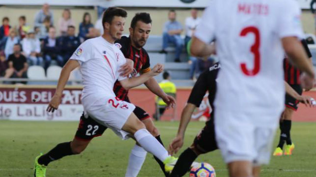 El Sevilla Atlético ha caído  ante el Reus. Foto: LaLiga