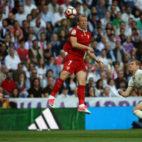 Krohn-Dehli salta anet Sergio Ramos y Kroos (Foto: Reuters)