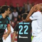 Nzonzi se lamenta de una ocasión perdida ante la Real Sociedad