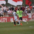 Lance del Sevilla Femenino-Femarguín jugado esta mañana en al ciudad deportiva Cisneros Palacios (Foto: SFC)