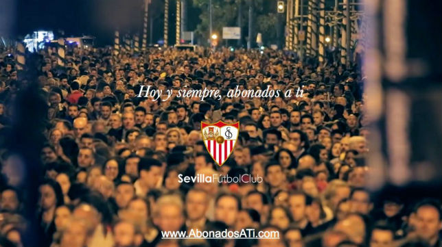 Campaña de abonos del Sevilla (Foto: SFC)