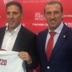 Eduardo Berizzo y Óscar Arias