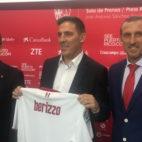 José Castro, Eduardo Berizzo y Óscar Arias (Foto: J. Sevillano)