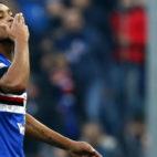 Muriel, en un partido con la Sampdoria