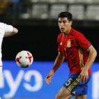 Diego González, en un partido con la selección española sub 21 (Foto: SFC)