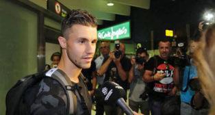 Sébastian Corchia, a su llegada a Sevilla (foto: Vanessa Gómez)