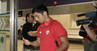 Borja Lasso, en el aeropuerto de San Pablo (foto: Juan Flores)
