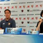 Berizzo, en sala de prensa tras la derrota ante el Kashima Antlers (Foto: SFC)