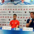 Sevilla FC: rueda de prensa de Berizzo y Escudero en Japón antes del amistoso ante el Kashima (foto: SFC)