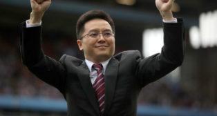 Tony Xia, propietario del Aston Villa