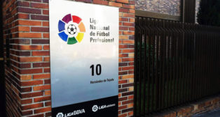 La sede de la Liga de Fútbol Profesional