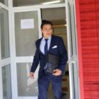 José María del Nido Carrasco abandona el Sánchez-Pizjuán (Foto: Rocío Ruz)