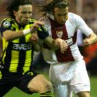 Lance del Sevilla FC-Fenerbahce de la 2007-2008