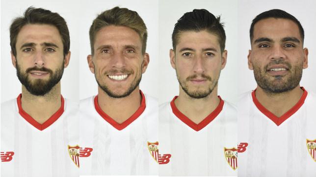 Los capitanes del Sevilla FC 2017-2018