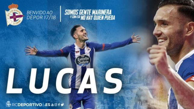Captura de la página web del Deportivo