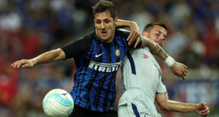 Jovetic, en el Inter-Chelsea de esta pretemporada