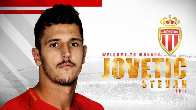 Jovetic, fichaje oficial del Mónaco