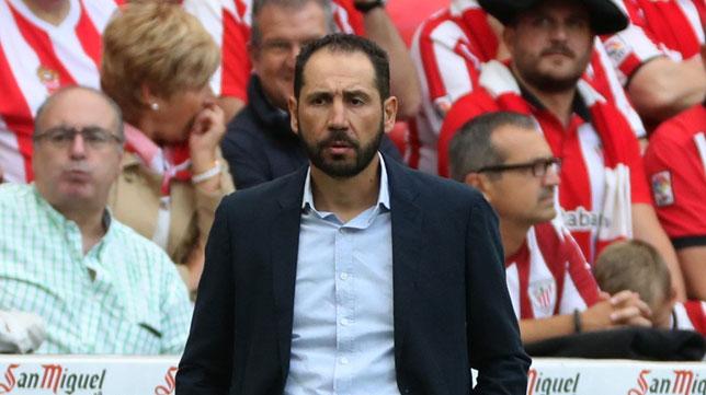 Pablo Machín, técnico del Girona (EFE/Luis Tejido)