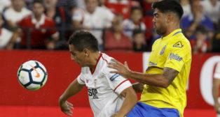 Ben Yedder, en el Sevilla FC-Las Palmas (EFE)