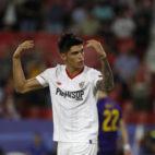 Correa, en el Sevilla-Maribor (Juan Manuel Serrano)
